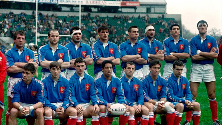 France dominated during the 1980's, but England took over in the 1990's