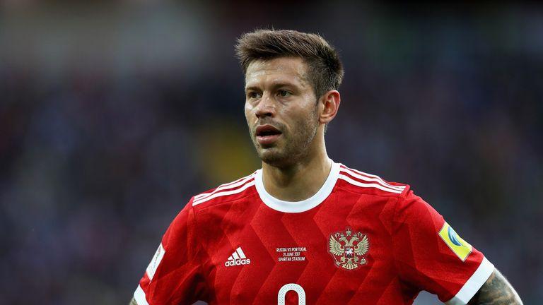 Fyodor Smolov has scored 50 goals in 67 appearances for Krasnodar since 2015
