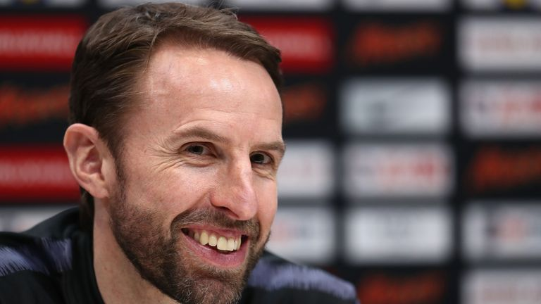 Manager Gareth Southgate says they should not place limits on what the young England squad can achieve
