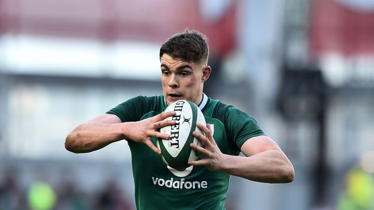 Garry Ringrose looks to attack for Ireland
