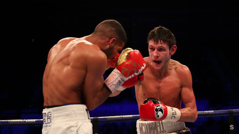 Gavin McDonnell was too strong for Gamal Yafai