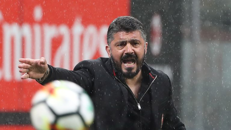 Gennarro Gattuso could not better last season's sixth-placed finish with AC Milan
