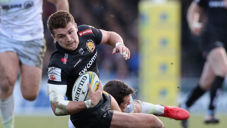 Exeter's Henry Slade enjoyable a notable return to form following injury