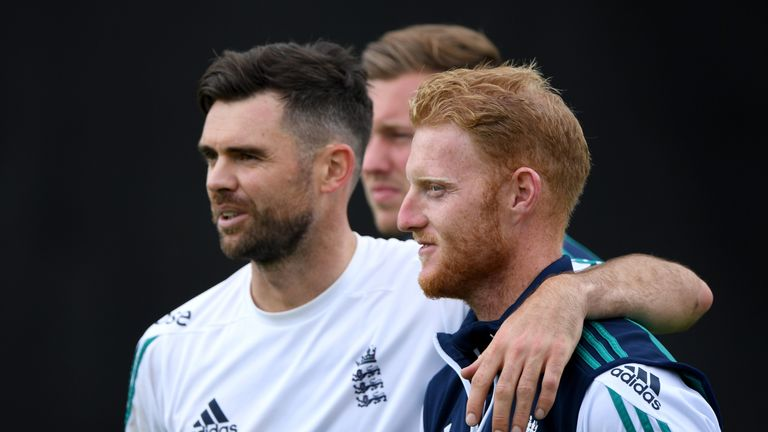 James Anderson will remain as England vice-captain