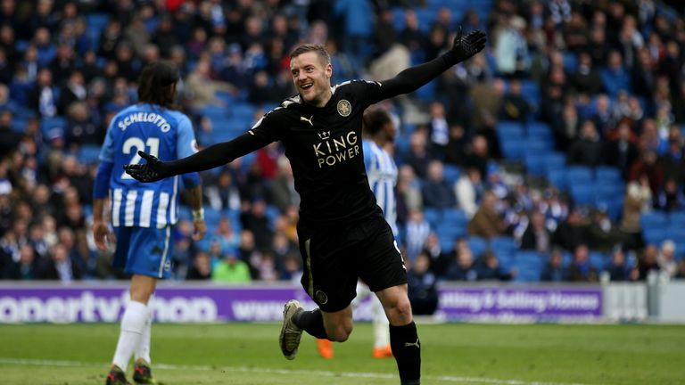 Leicester are six points behind Burnley with six games remaining