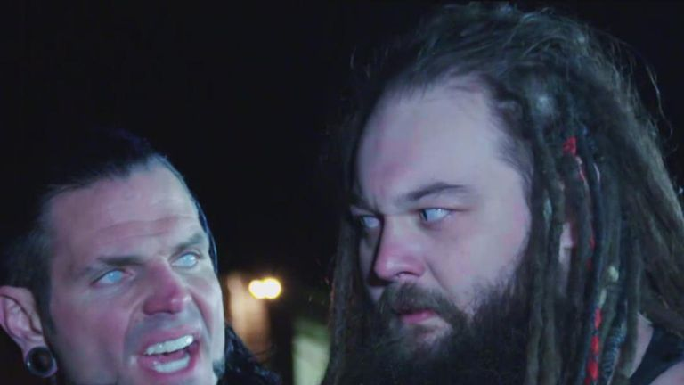 Jeff Hardy made an appearance as 'Brother Nero' during the Final Deletion match between Matt Hardy and Bray Wyatt