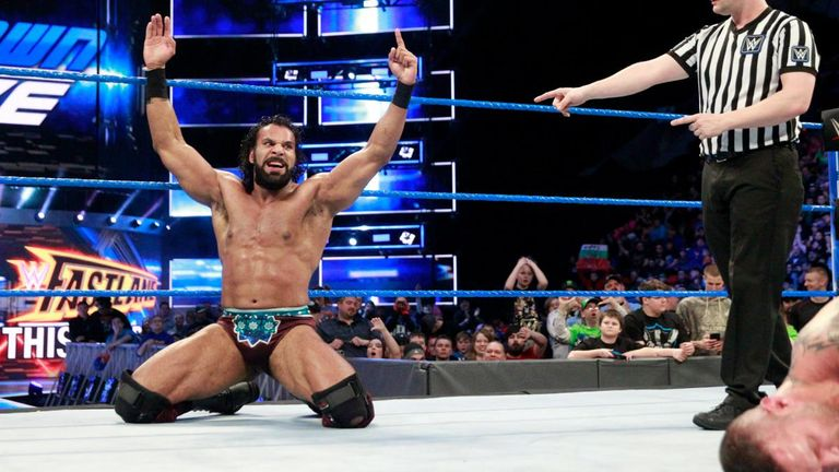 Jinder Mahal beat Randy Orton - with an assist from Bobby Roode