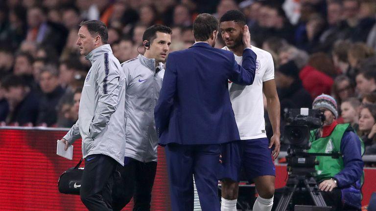Joe Gomez is set to return to the England squad