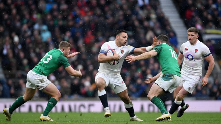 England finished the Six Nations with 10 points - 16 behind winners Ireland
