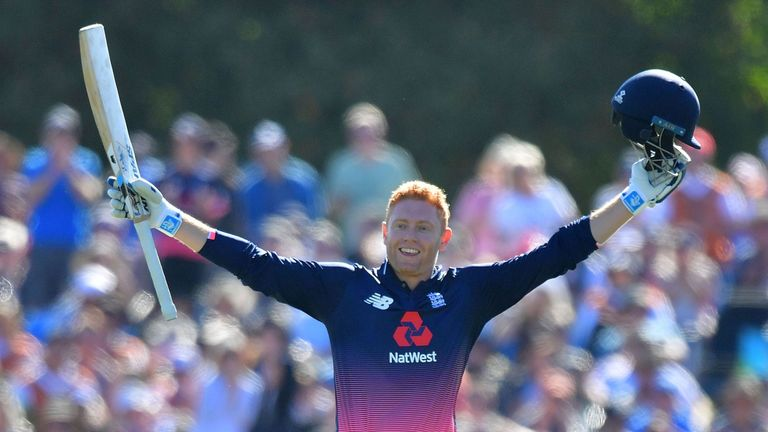 Jonny Bairstow will be in the Sky Sports studio on Tuesday afternoon