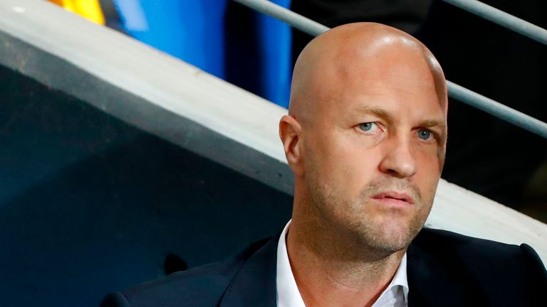 Head coach Jordi Cruyff also spent five years as Maccabi Tel Aviv's director of football