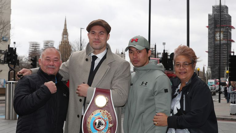 Parker leaves without his belt but having made a good impression inside and outside the ring