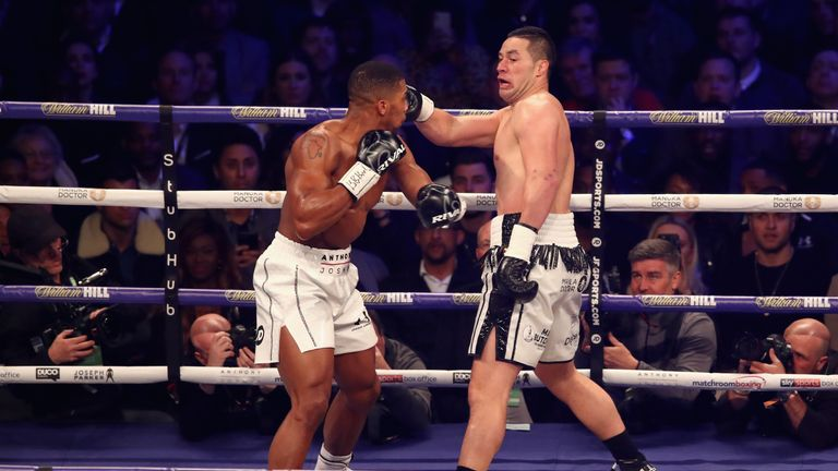 Britain's heavyweight star sealed a disciplined points win over Joseph Parker