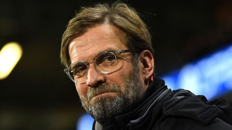 Jurgen Klopp's Liverpool have slipped five points off second place in the Premier League