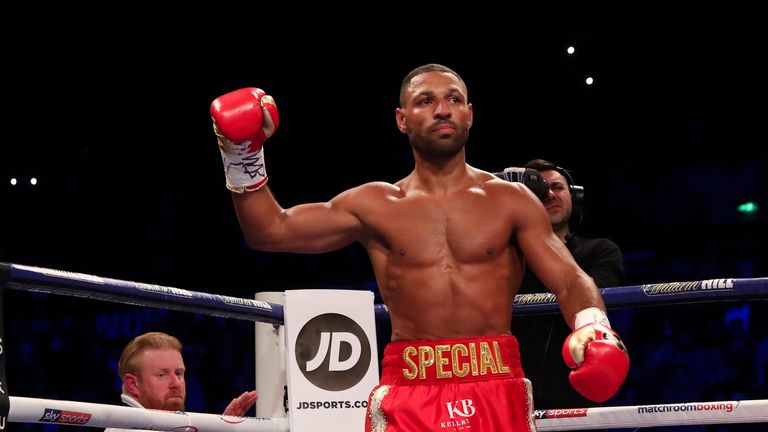 Kell Brook open to heading stateside after potential Amir Khan showdown