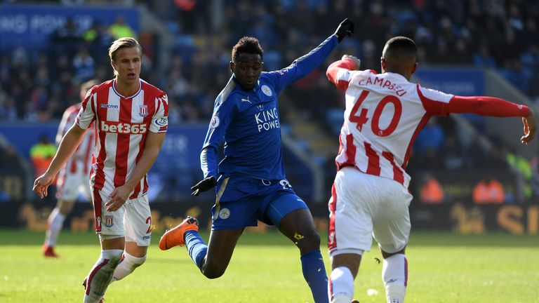 Wilfred Ndidi has been Leicester's stand-out player this season