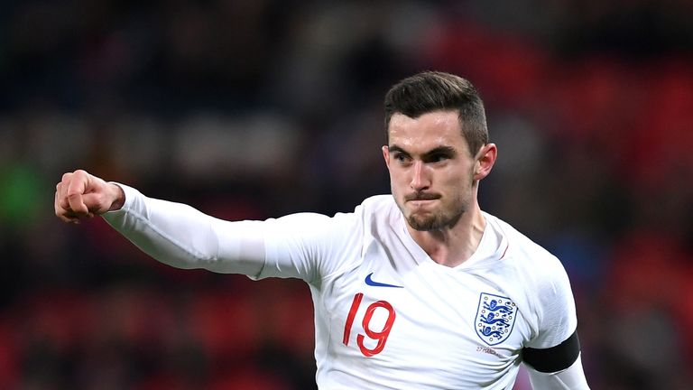 Lewis Cook is hoping to be on the plane to Russia this summer