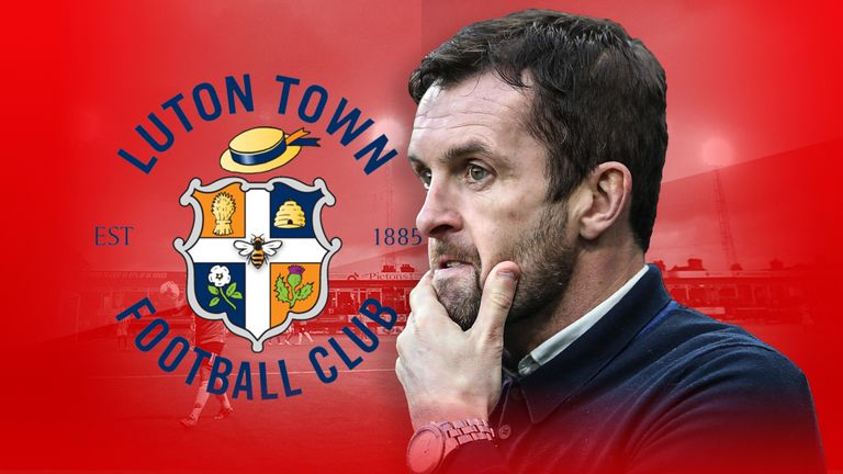 Nathan Jones' Luton side spent four months on top of League Two
