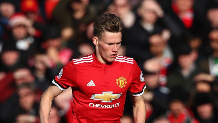 McTominay has made 17 appearances in all competitions for United this season