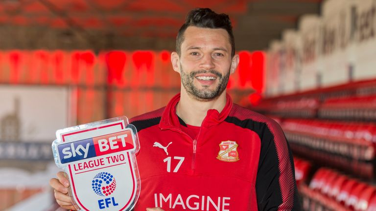 Marc Richards is the Sky Bet League Two Player of the Month for February