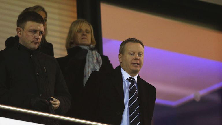 West Brom CEO Mark Jenkins made the decision as a result of the club's poor season in the league