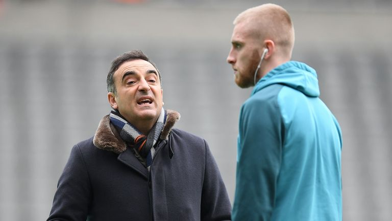 Carlos Carvalhal sees a long-term future for McBurnie at Swansea