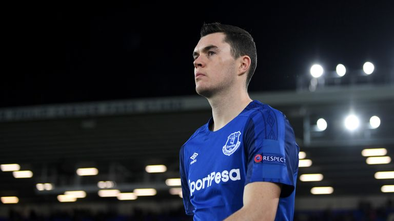 Michael Keane has lost his place in the England squad