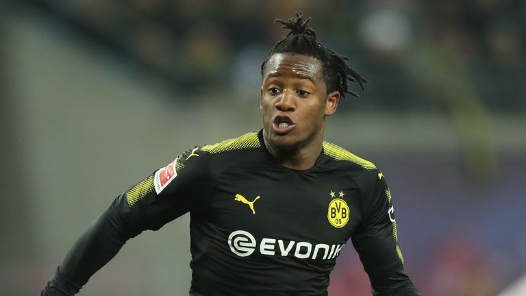 Michy Batshuayi joined Borussia Dortmund on loan from Chelsea in January