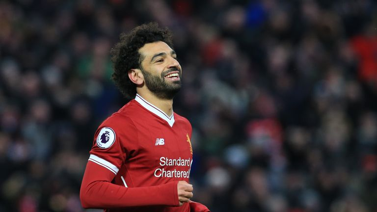 Mo Salah scored four as Liverpool beat Watford 5-0