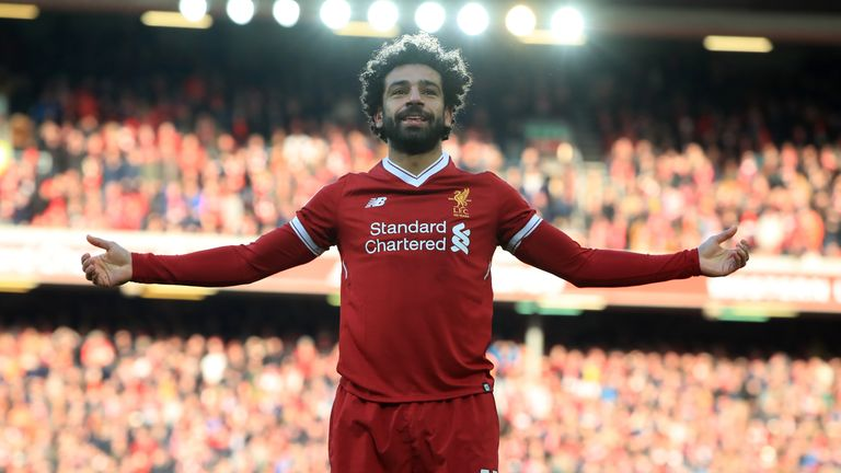 Phil Thompson says Mohamed Salah has had a 'dream' season at Liverpool