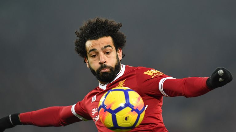 Mohamed Salah has now scored in seven consecutive Liverpool appearances