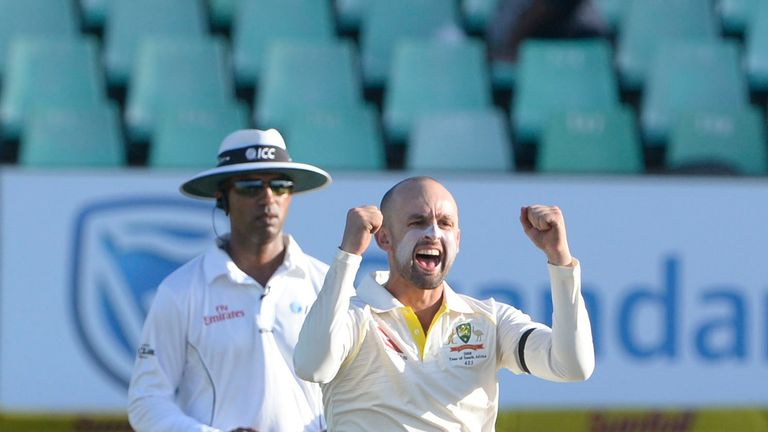 Leach has watched fellow finger spinner Nathan Lyon to see what he can learn from the Australian