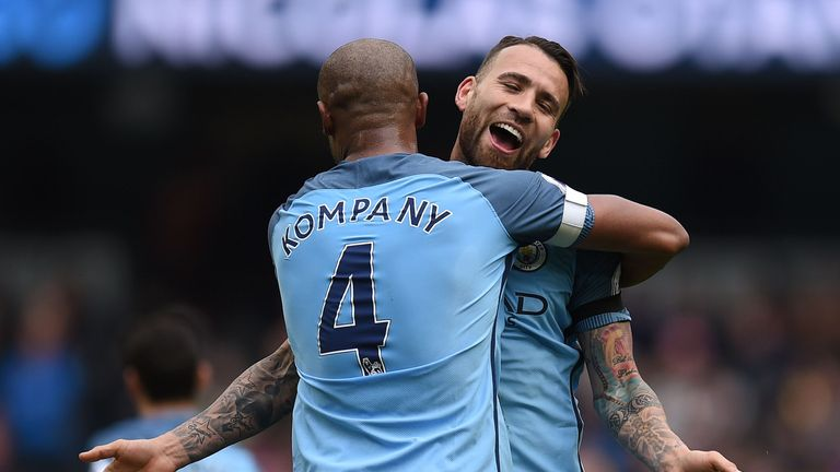 Are Vincent Kompany and Nicolas Otamendi the best defensive partnership?
