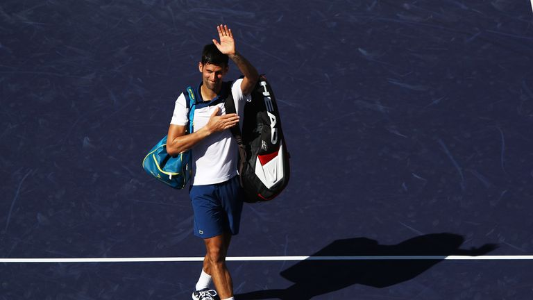 Novak Djokovic was out-of-sorts but Roger Federer says he will only get better