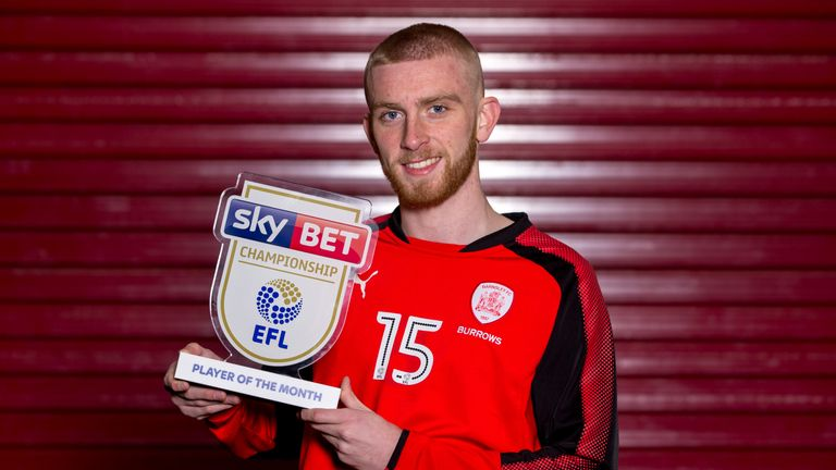 Oli McBurnie is the Sky Bet Championship Player of the Month for February