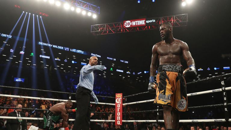 Wilder walked away without his usual celebrations