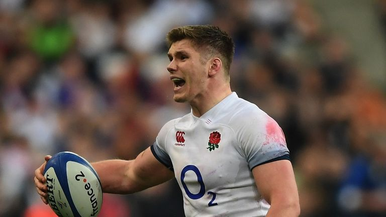 Should Owen Farrell start at fly-half against Ireland?