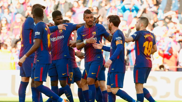 Barcelona are nearing another La Liga title win, but who else is dominating in Europe?