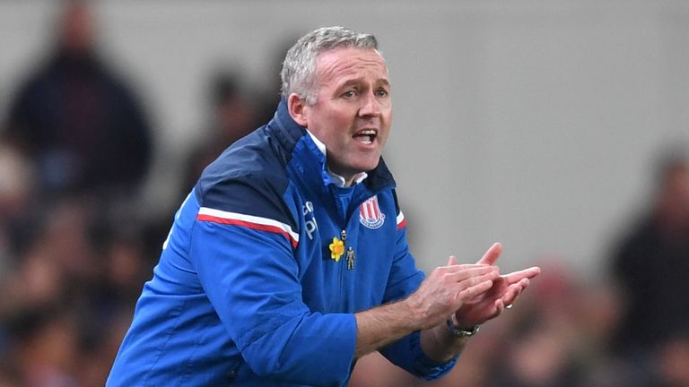 Paul Lambert's Stoke are unbeaten in five of their last seven matches