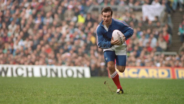 Philippe Saint-Andre scored an incredible try in Twickenham in 1991, but the game was a gritty battle