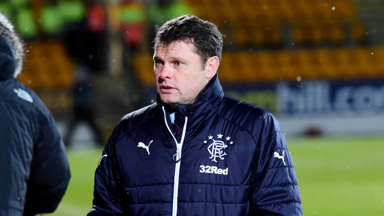 Rangers manager Graeme Murty wants his side to bounce back this weekend