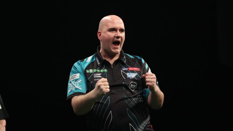 Rob Cross will lead second seeds England at this year's World Cup