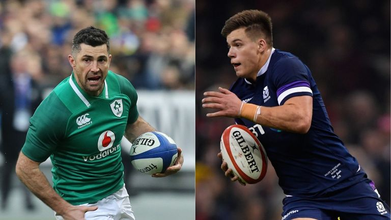 Ireland and Scotland face off in Dublin on Saturday at 2.15pm