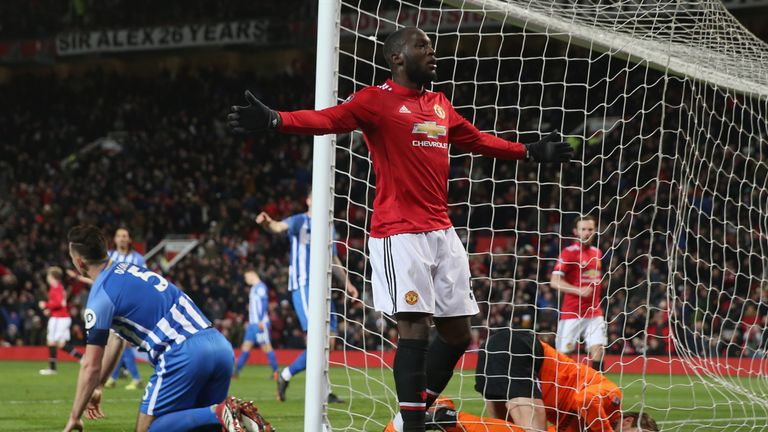 Romelu Lukaku has scored 14 goals in the Premier League this season