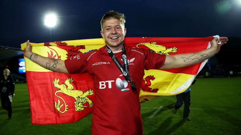James Davies will become Scarlets' 230th international