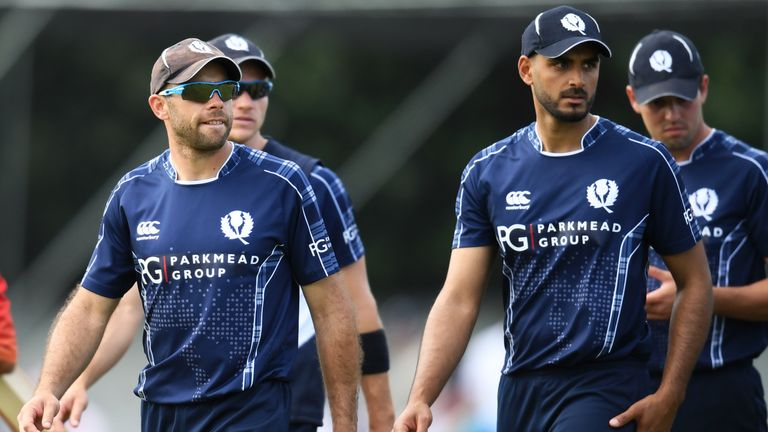 Scotland missed out on a place in the 2019 Cricket World Cup after rain interrupted their game with the West Indies