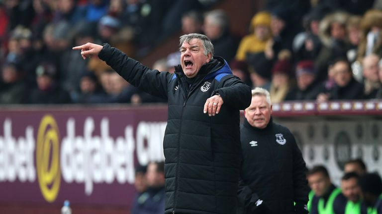 Allardyce admits a win against Brighton is vital for the Toffees