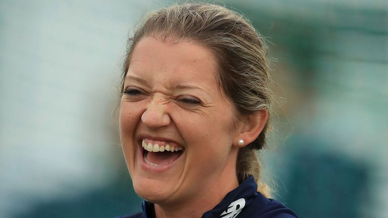 Sarah Taylor: 'Playing cricket is the release - that's the easy bit'