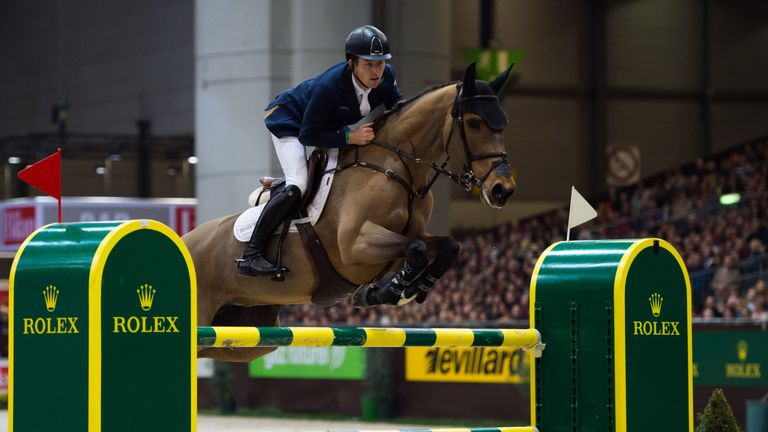Scott Brash is the only rider to win the Grand Slam