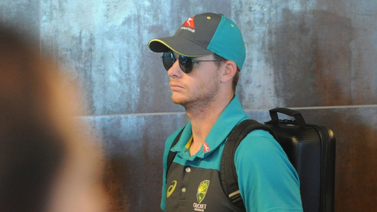 Steve Smith (pictured), David Warner and Cameron Bancroft have been sent home from the Australia tour of South Africa
